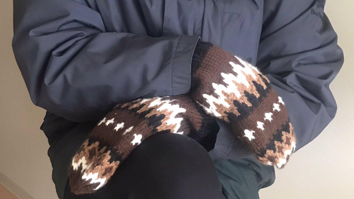 """Bernie Sanders' inauguration mittens"" and me   @BernieSanders  #BernieSanders  #berniesmittens"