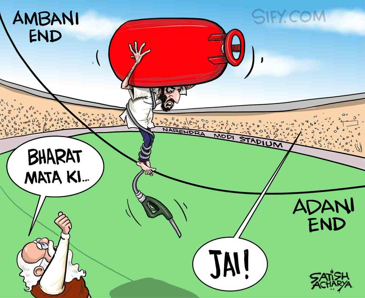 After petrol, now LPG burden! @sifydotcom cartoon #petrol #LPGPriceHike