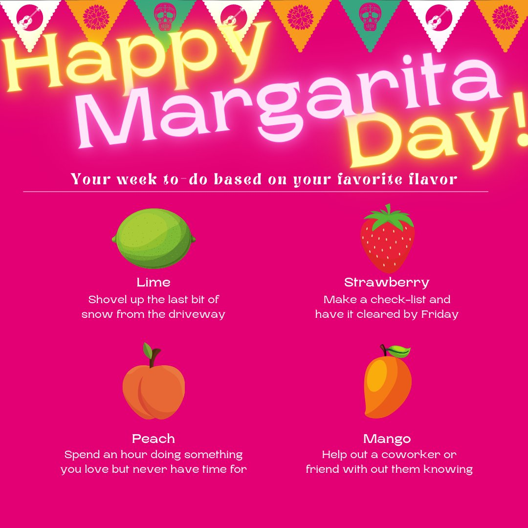 Happy #NationalMargaritaDay🍹!