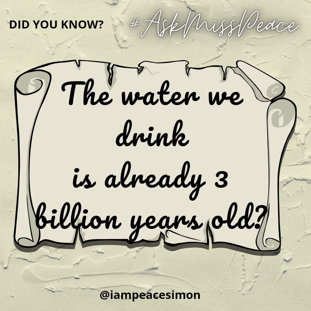 E shock me too 🤣🤣😂  Those who don't eat warmed food, hafa na ?? 🤣😂🤣😂  How will you deal with this??  Water is as old as the earth in which we live in, can you beat that??  Have a fun filled #saturday fam. #teacher  #askmisspeace  #GoodMorningTwitterWorld