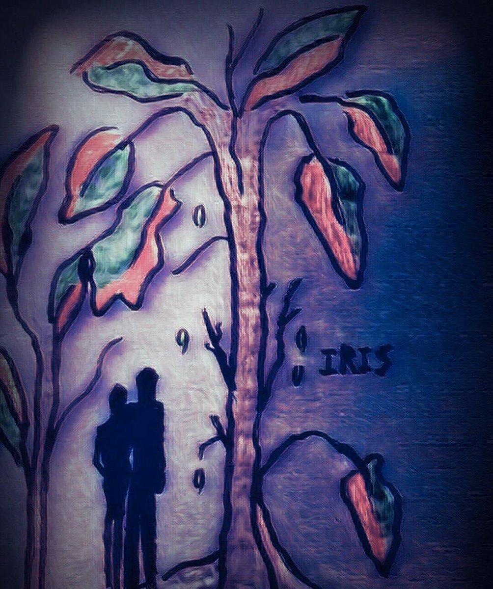 Winter ❄️ painted by @IRISUNART #irisunart #art #artistic #artist #arte #artsy #arts #painting #paintings #paint #watercolor #watercolors #instartist #instalove #instalike #galleryart #onlinegallery #fineart
