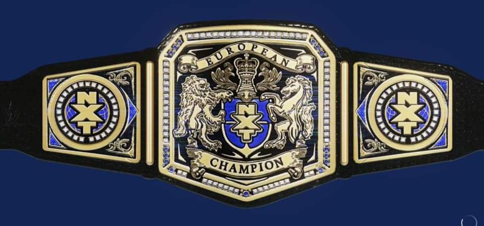 New WWE European Champion!??? #SmackDown #SmackDownOnFox #SmackDownMatters #NXTUK #NXTTakeOver