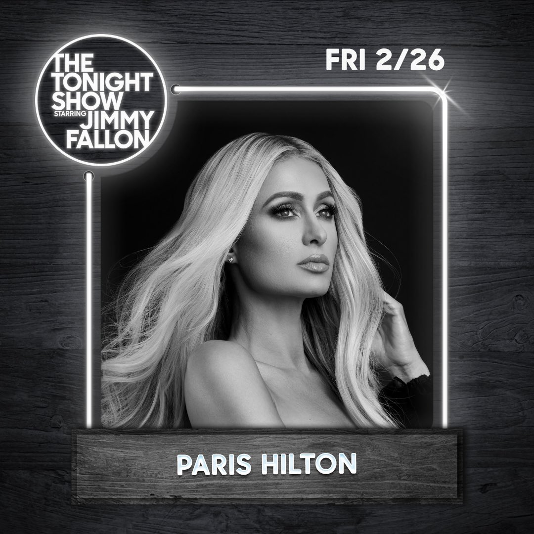 Tune in tonight to The Tonight Show starring @jimmyfallon at 11pm ET/PT! Check out  for local @nbc listings!