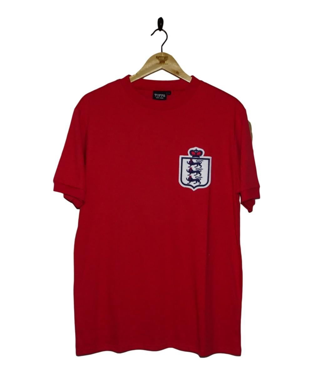 Checkout this 1950's England Away Shirt (L)!  Buy Now at    Free UK P&P!   #BNWT #ENG #England #ThreeLions #Toffs #TheKitman