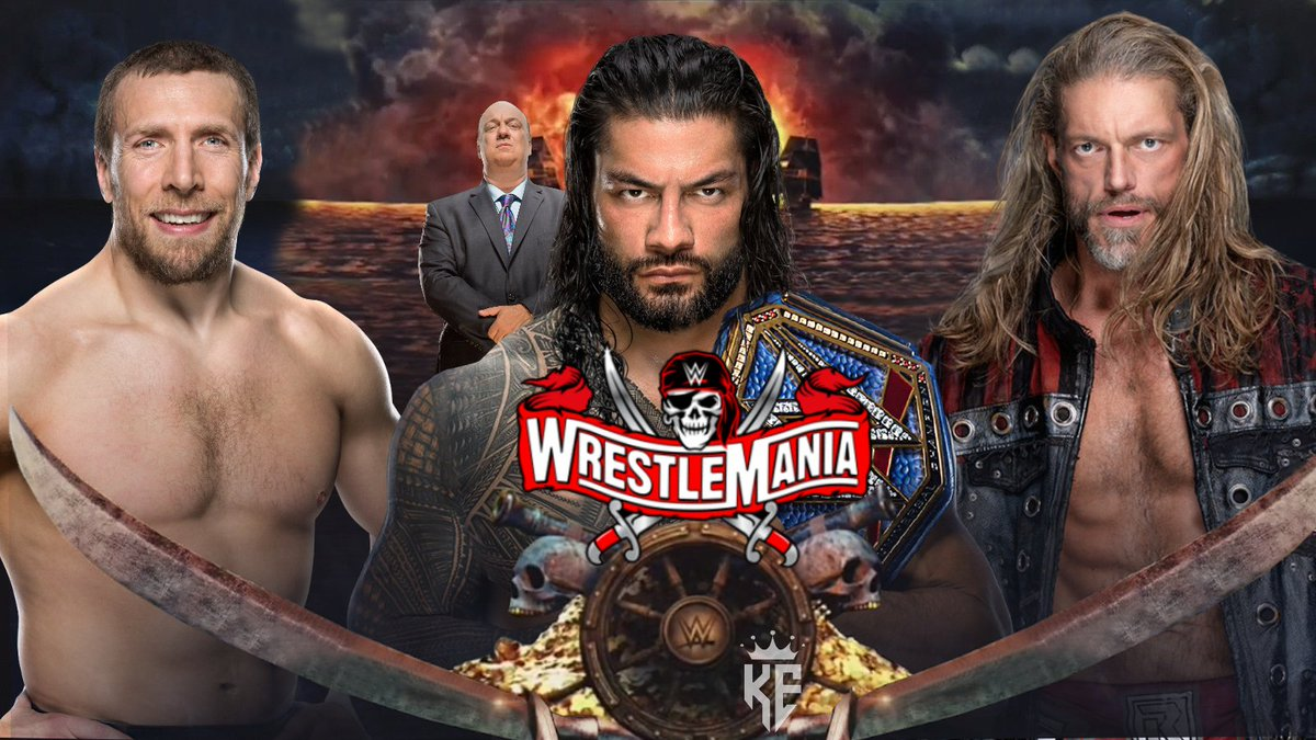 Thoughts if this happens...  #WrestleMania #Wrestlemania37 #wm37 #WrestlingCommunity #wrestling #WrestlingTwitter @JDfromNY206 #SmackDown