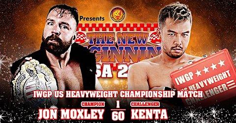 [新日本プロレス] 2.27 NJPWストロング 試合結果 → ジョン・モクスリーvs.KENTAのIWGP USヘビー級王座戦、他 #njpwSTRONG #njpw