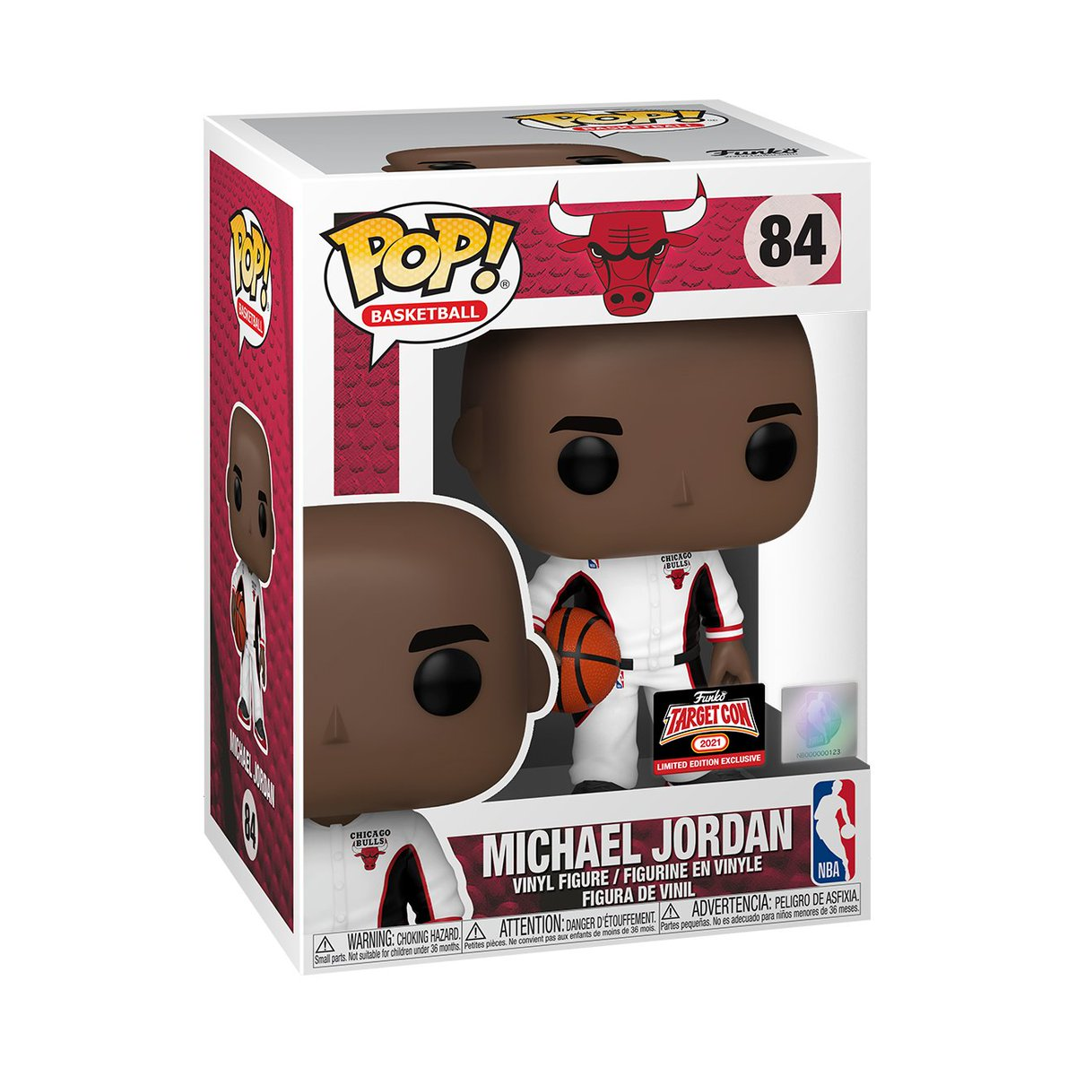 🐐🏀RT & follow @OriginalFunko for the chance to WIN this #TargetCon exclusive Michael Jordan Pop! #FunkoGiveaway #Giveaway #MichaelJordan #FunkoTargetCon