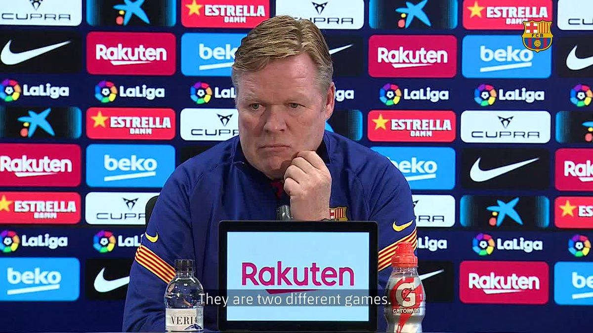 ❝There is pressure on all teams, not just on us.❞       — @RonaldKoeman on #SevillaBarça