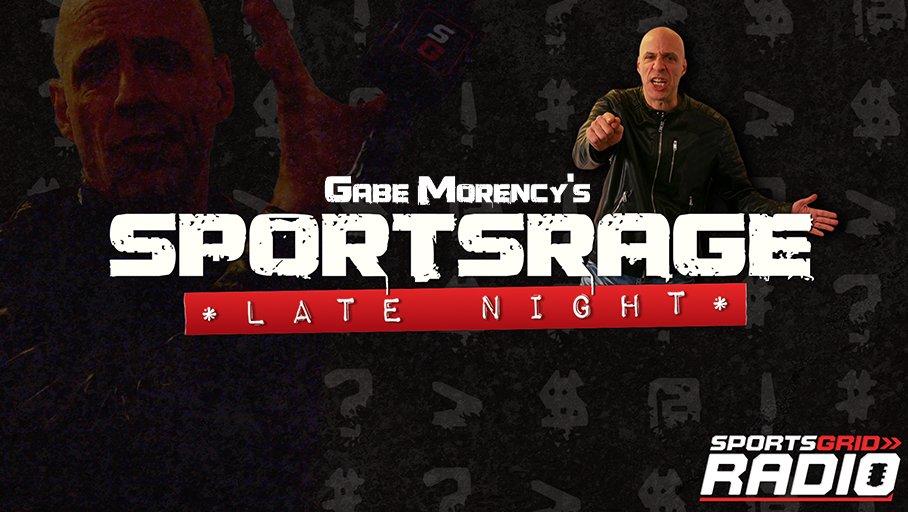 Sports Rage Late Night w/@sportsrage @ midnight eastern #CBB #MarchMadness #NBA #CFB #UFCVegas #NASCAR & more w/@SteveMerril @FinnatWagerTalk on @SIRIUSXM #204 @SportsGrid !!! https://t.co/GHTfHkmWdl