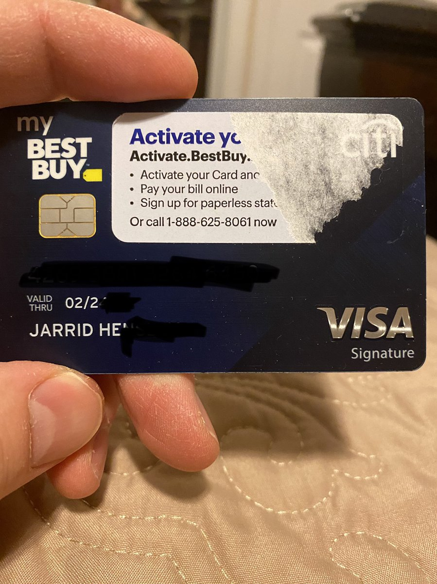 @BestBuy this is how you run your business? Sending me someone else credit card? So much for customer confidentiality Luckily I'm a honest person #RIPTwitter #BestBuy #SmackDown #loveafterlockup #boycottwendys #WandaVision #business #TrendingNow