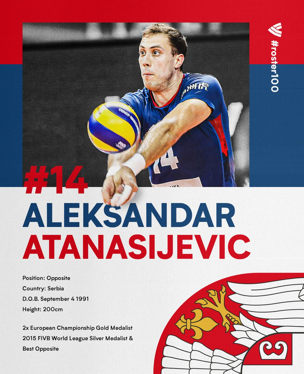 #ROSTER100 PRESENTS: Atanasijevic Cherishes Time Passed With Teammates.  FULL STORY: https://t.co/bmR2Yyzkhi  #Volleyball 🇷🇸 https://t.co/I5ciQHz5M1