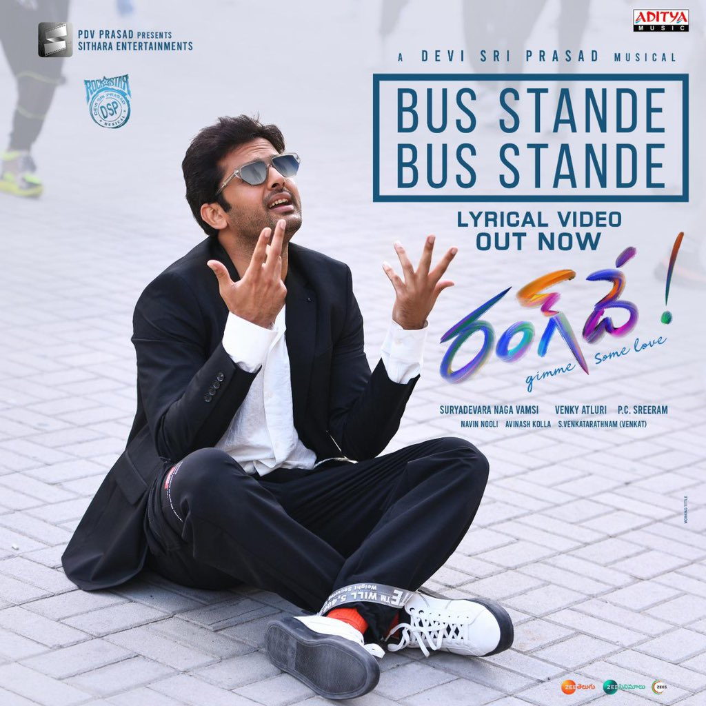 Heres the Lyric Video of #BusStandeSong from #RangDe youtu.be/6yZPbSneXBM