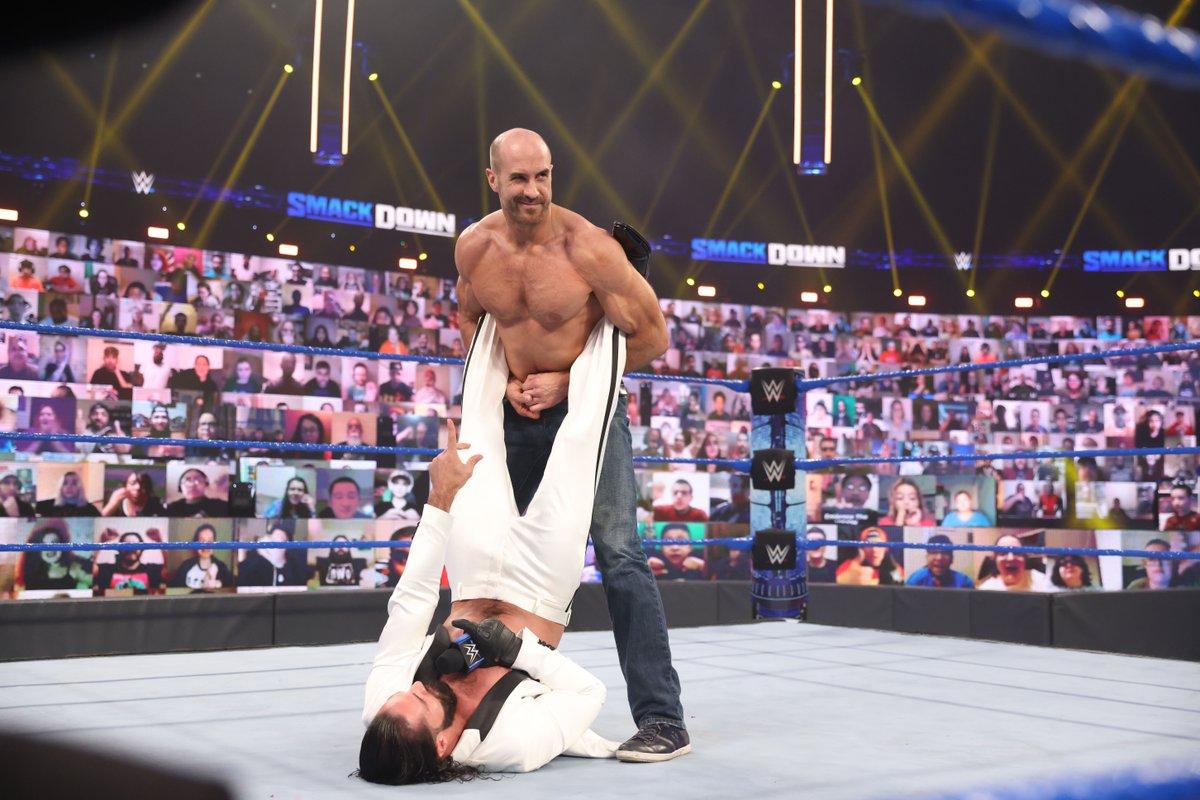 Did @WWECesaro embrace @WWERollins' vision?