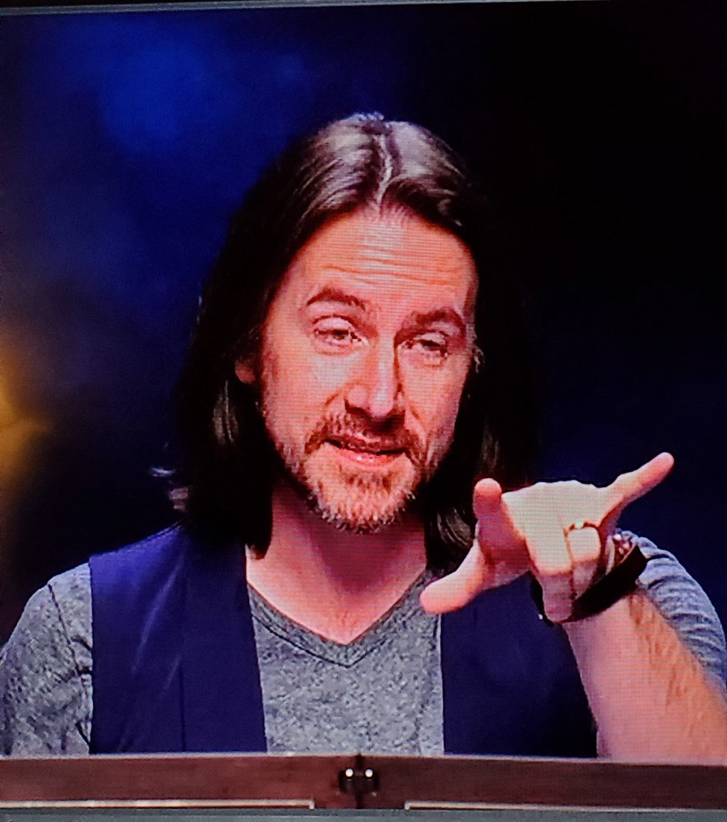 Just happened to pause the most recent episode... at the right time?...@matthewmercer looks about done with M9's hijinks (@samriegel 2:45:21 of the twitch stream for... reference) #CriticalRole