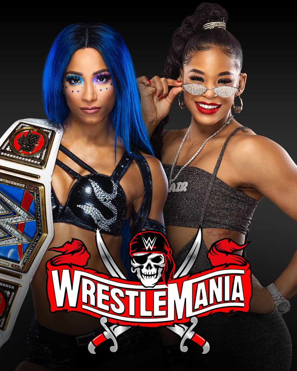 Replying to @SashaBanksWWE: Main eventing #Wrestlemania37 #vivalasasha