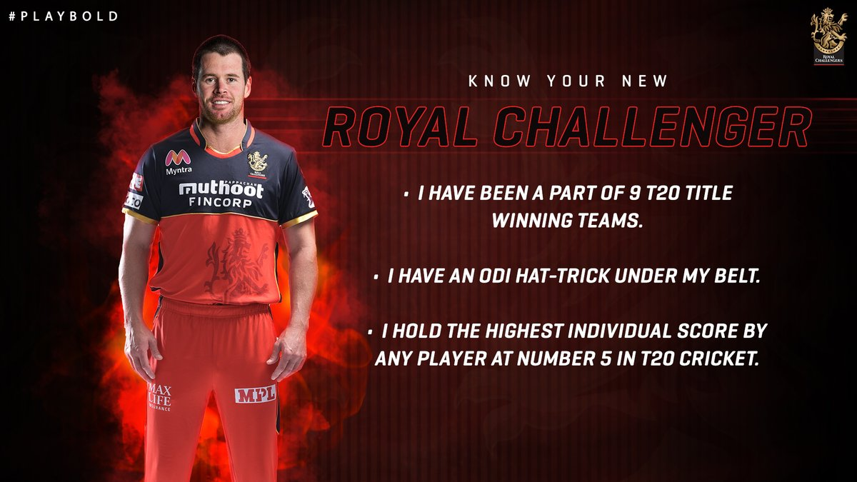 Time to up your Dan Christian trivia game, 12th Man Army 😎  How many of these facts did you know about our Aussie all-rounder?🤔  @danchristian54  #PlayBold #WeAreChallengers #Classof2021
