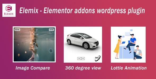 Elemix – #Elementor addons #WordPress #plugin helps to build an eye-catching animated and interactive #WordPress #website.  check the Product   #SmackDown #RichardJefferson #Jerry #HuTao #CPAC #Schroder #WandaVision #KimberlyGuilfoyle #JeremyLin #GAYRIGHTS