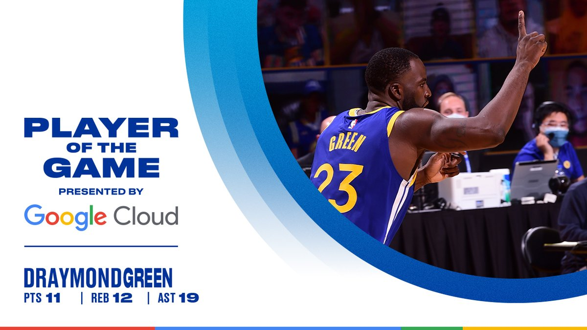 First Dubs player with 17 + assists in a game since '08  Player of the Game || @GoogleCloud https://t.co/OdmaIPu622