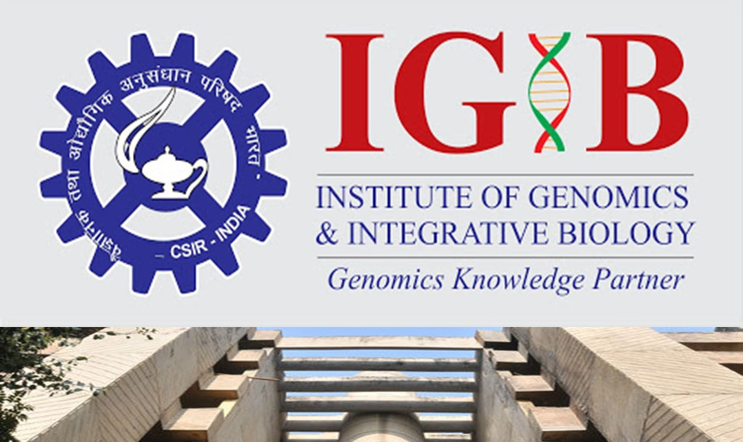 Scientist Positions at CSIR (IGIB), Delhi, India, Last Date 22 March 2021