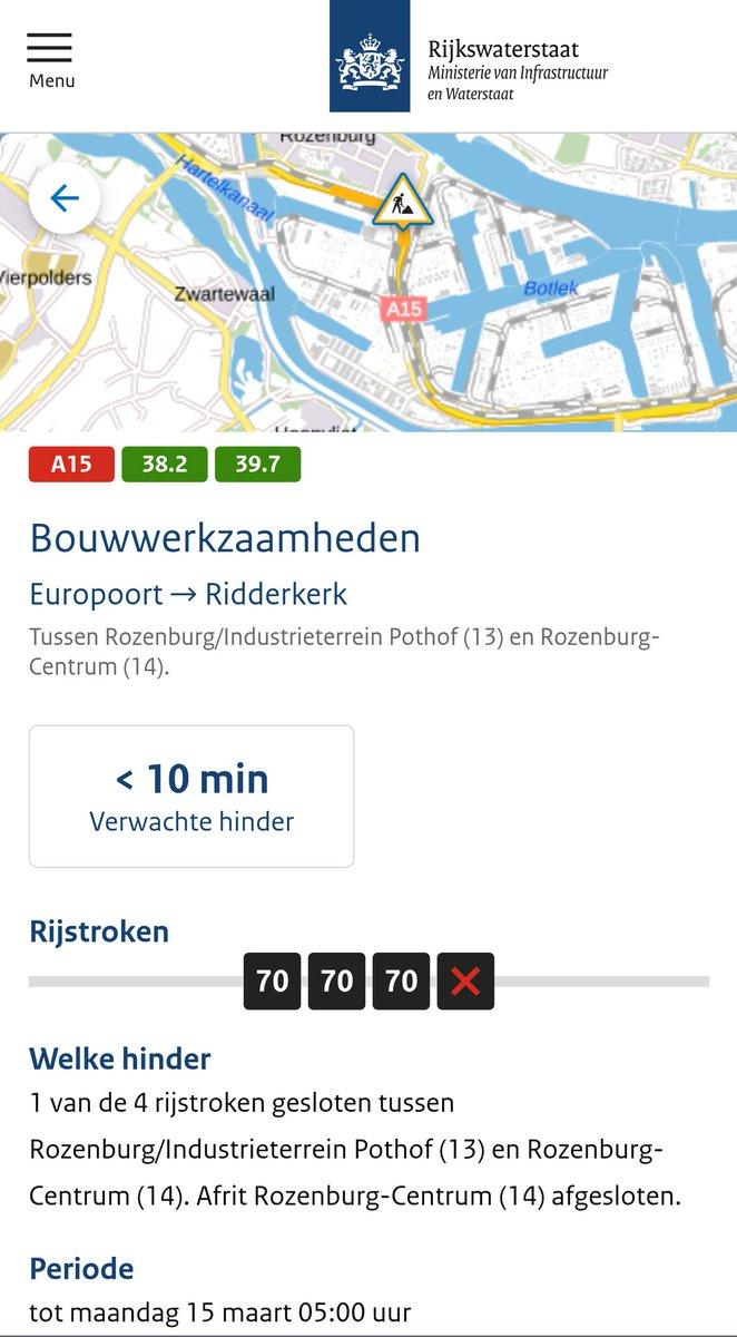 test Twitter Media - Deel 1/3 Bron Rijkswaterstaat Verkeersinformatie Regio Rotterdam Za 27 feb '21 7:10uur https://t.co/w8HDLI5HeU