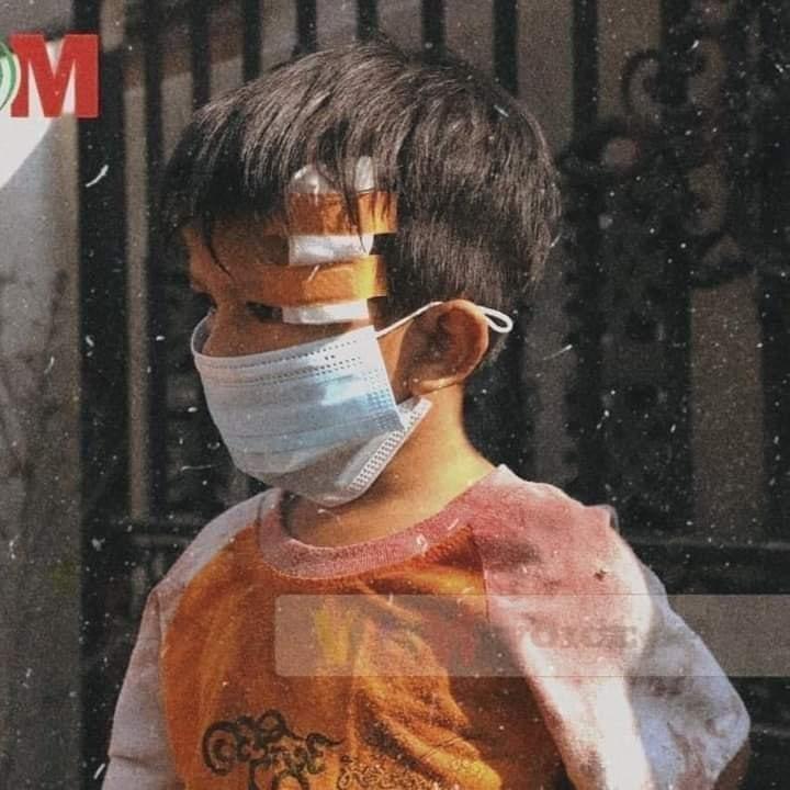 #WhatsHappeningInMyanmar #AgainstMyanmarMilitaryCoup #HumanRightsViolations #childrennotsoldiers