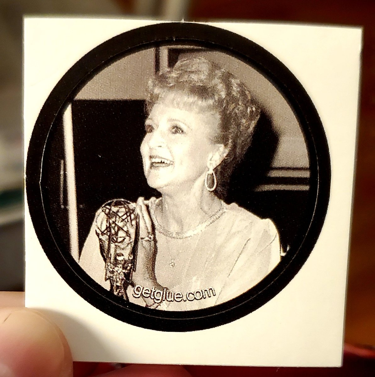 Anyone remember #getglue ? It was  a website were you earned free stickers from TV and movies. Went through my old collection and found this cute #BettyWhite sticker. Complete #boardwalkempire season 4, partial #trueblood season 5 (Where's Pam?) #WarmBodies Nicholas Hoult sticker