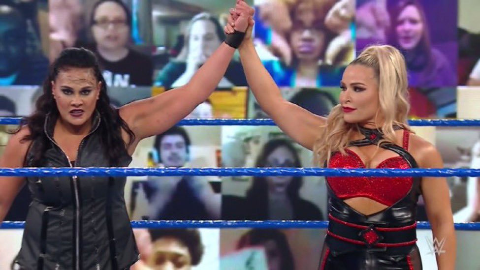 • Tamina def. Liv Morgan.  #SmackDown