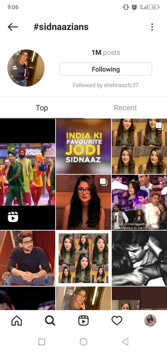 Congratulations to all #SidNaazians #SidNaazLovers  Both hashtags completed 1M on IG  🥳🥳🥳🥳🥳🔥💃💃💃💃🔥🔥🔥😘😘😘😘