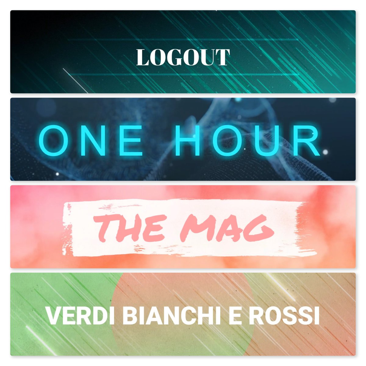 Pronti ad iniziare una nuova giornata insieme?  Dalle 8:00: LOGOUT - VERDI BIANCHI ROSSI - ONE HOUR - THE MAG   #radiofm #radiofmfaleria #artiste #beat #beats #bestsong #bumpin #love #TFLers #tweegram
