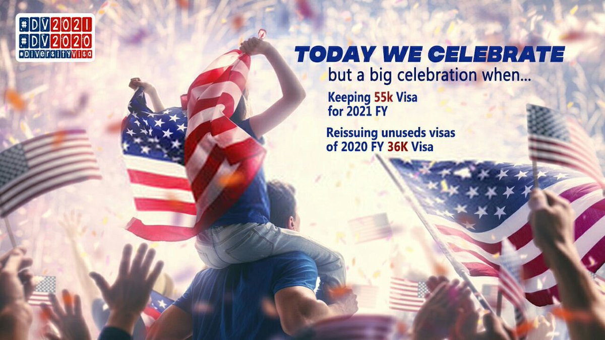 Diversity Visa #DV2021 #DV2020 made us dream, imagine, rebuild our lifestyle, and ambitious. @potus @VP  we have a lot to skip this critical period & Our time is running out. We wish to get our visas ASAP  @SecBlinken @PressSec 55k Visa = 55k dreamer #SaveDiversityVisa