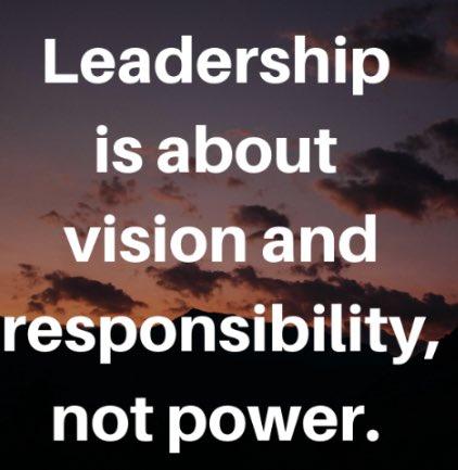 #SaturdayThoughts #leadership