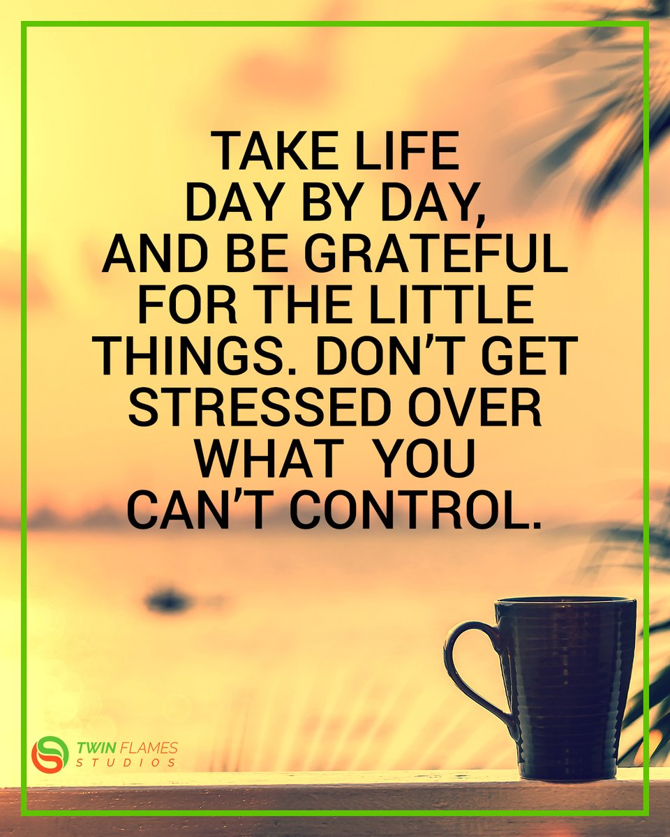Take life day by day with gratitude  #inspiration #motivation