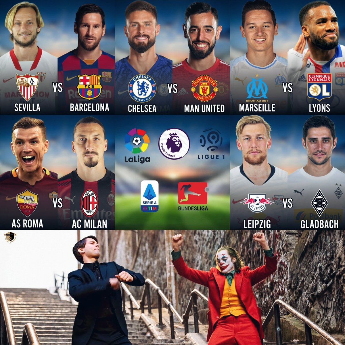 In among all the madness, here are some eye-catching fixtures taking place this weekend. So Football Kura presents some of the fixtures we've picked out five of the best for you to sink your teeth into.😍🔥  #Top5fixtures #premierleauge #Chelsea #manchesterunited #Laliga #sevilla