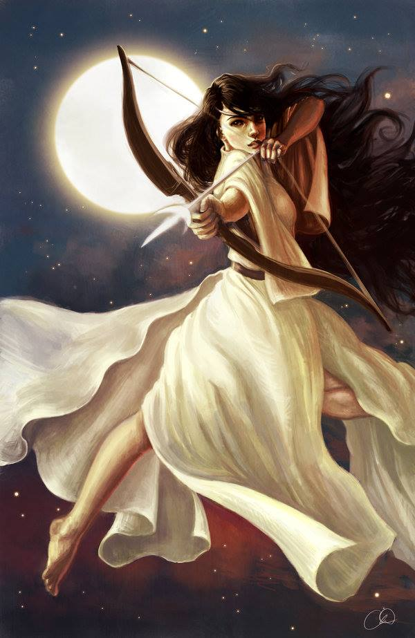 "Tonight's #Virgo #FullMoon is the ""Diana Moon"" of sisterhood in #Antinous #MoonMagic, honoring #Diana/#Artemis, the spiritual twin #sister of #Antinous/#Apollo. Remember: a sister need not be your biological #cisfemale sibling. Call your sister tonight!"