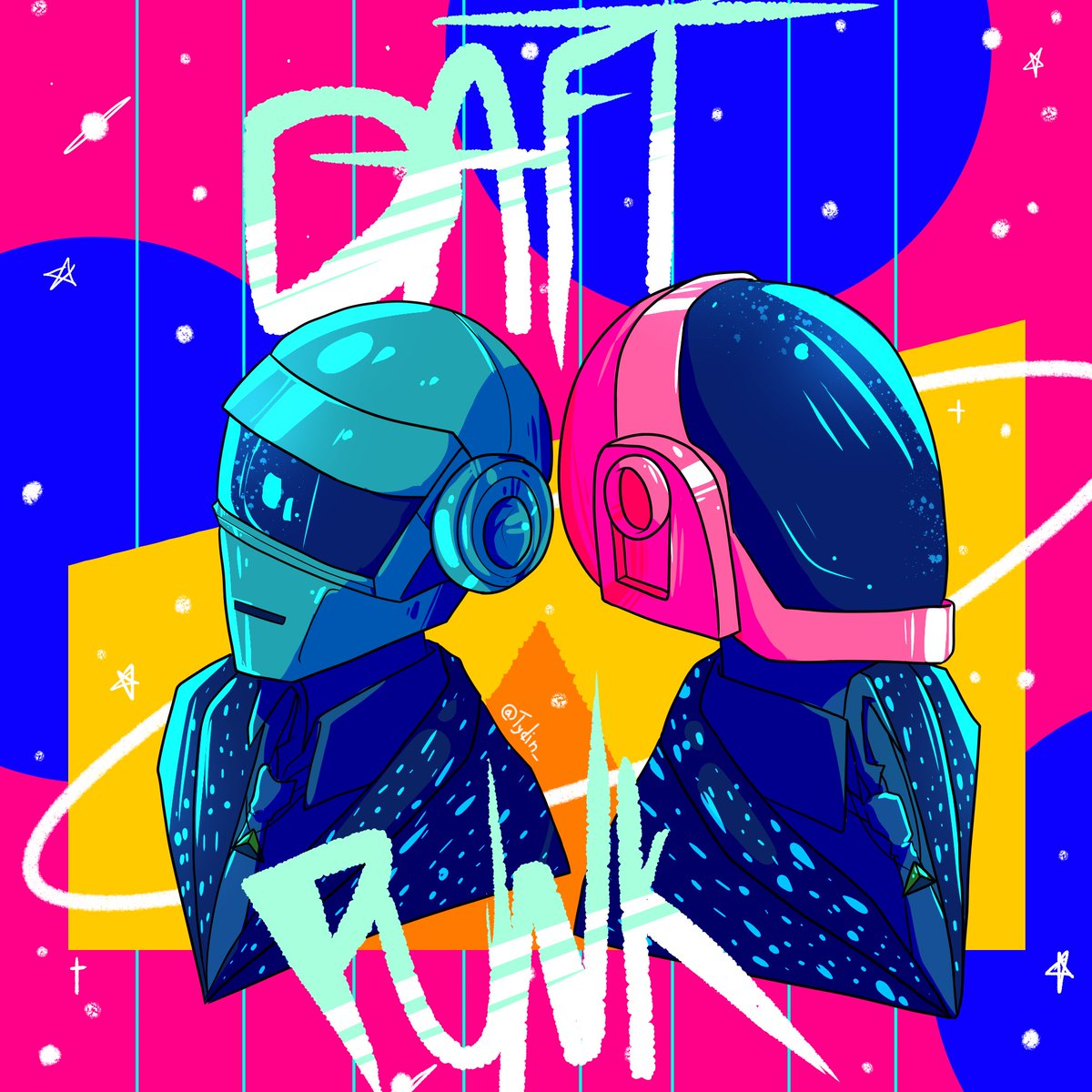 Thank you for the amazing music  - #daftpunk #daftpunktribute