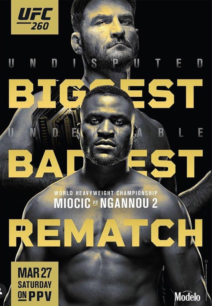 #UFC260