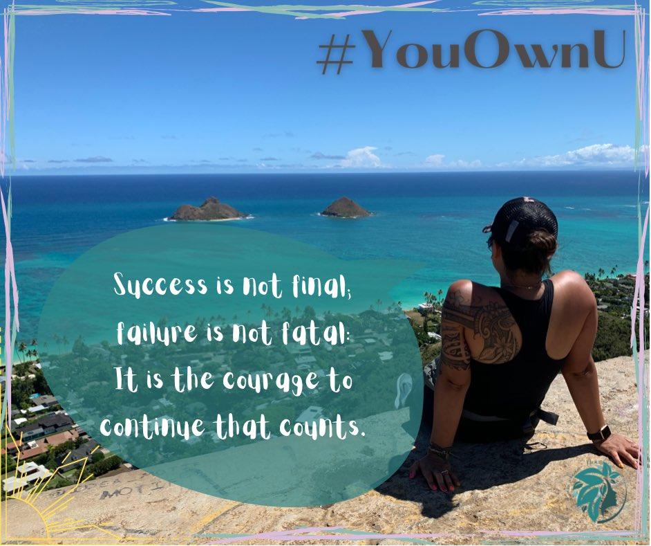 Keep going 👏🏽  #fridayfeeling #inspiration #hope #success  #YouOwnU #bestthebestversionofYOU #KumulaauNani #healthyhealing #staypositive #loveyourself #me #lifeisgood