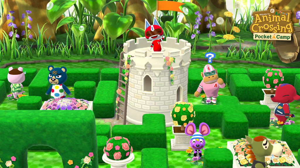 The snow's got to melt sometime, and the garden event starting tomorrow is ready to put you in the spring mood! Up for a hedge maze, anyone?