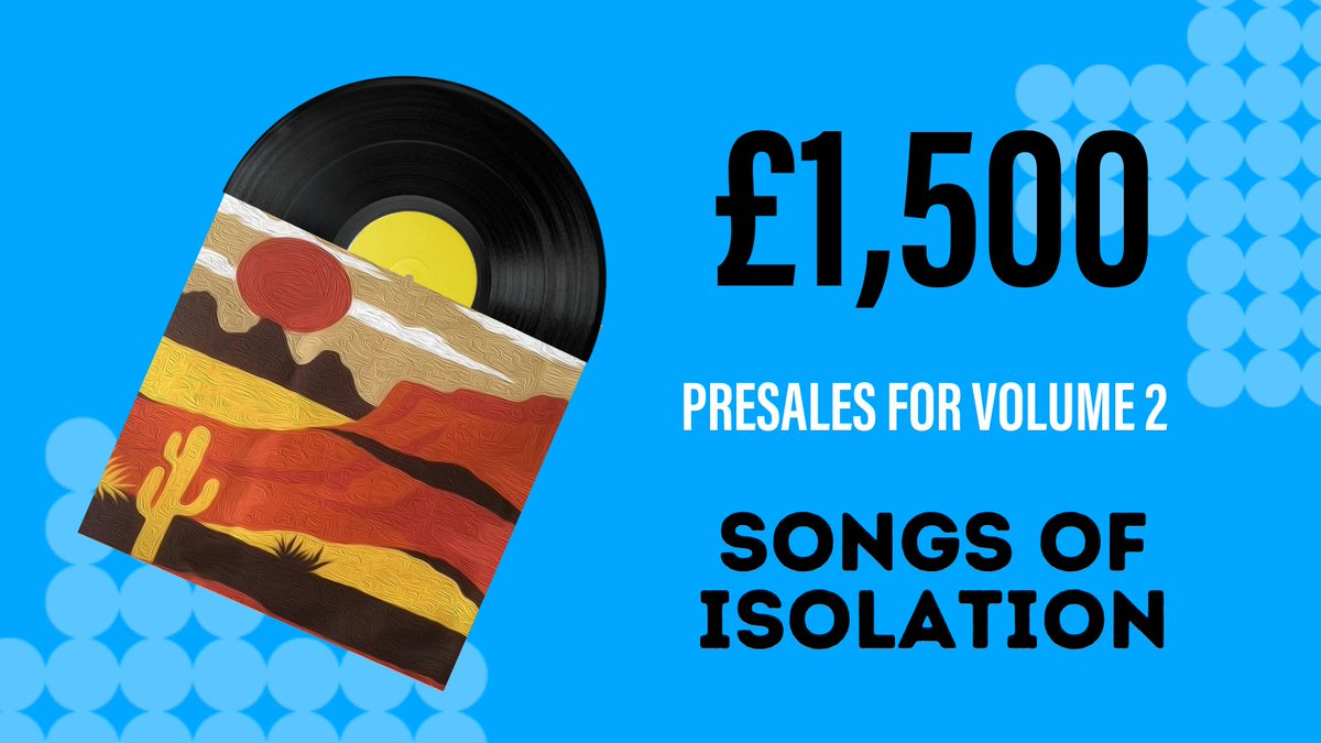 We'd like to say a big thank you to our partners Songs of Isolation, who have raised £1,500 just in pre-sales for their second volume release – with all funds being donated to HWF! Volume 2, featuring Elles Bailey, Bill Wyman, and many more, out now: buff.ly/3pkM0kS