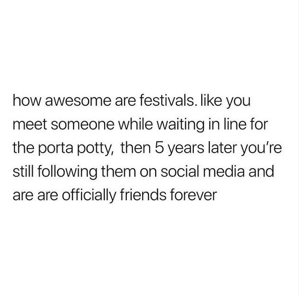 This is reality again this Summer!  🎤🎶🎸🥁🎪🙌  Hands up who can't wait? 🙋🙋♂️  📷 Festival Memes  #festival #portableloo #portaloo #readingandleeds #LeedsFestival #summer