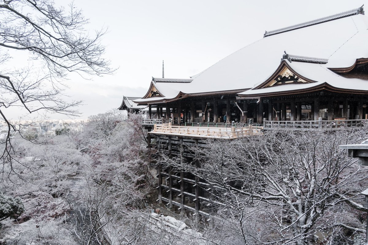 行くなら冬がオススメ?京都の白銀世界が美しい!