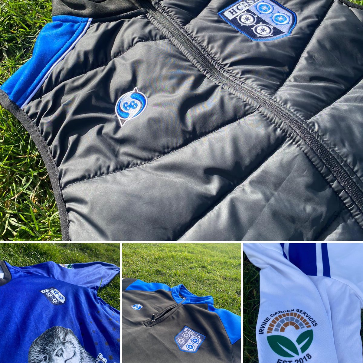 Little kit bundle for @HC_SchoolsFA   Kindle sponsored by Harrogate Hand Sanitiser and Irvine Garden Services.   #BeMoreYou #Football
