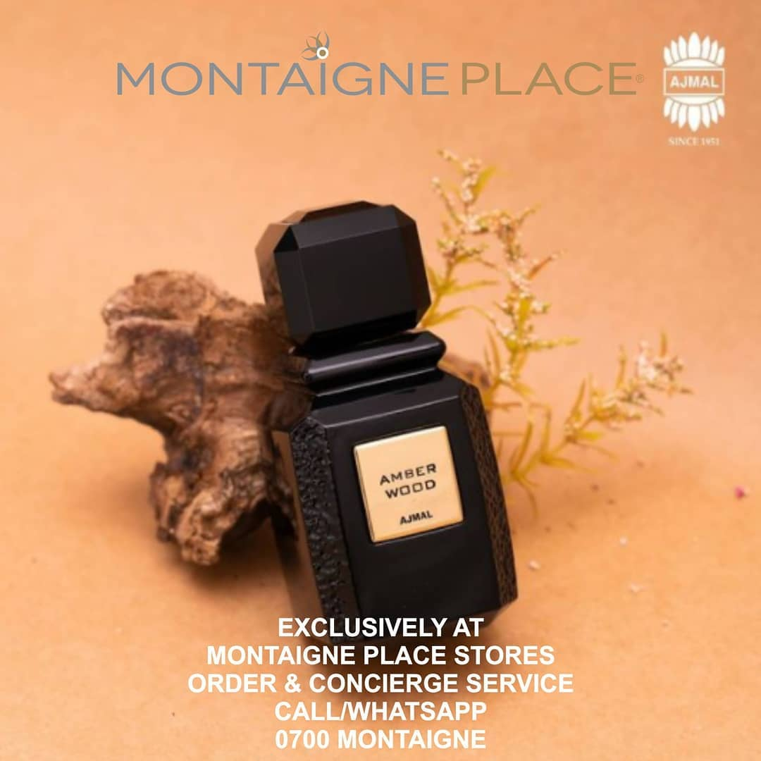 Exclusive Offer!!! Receive 20% off  AJMAL  To Experience AJMAL, Come in-store or Call/WhatsApp the  Concierge & Order Service No.  0700 Montaigne  #ajmalperfumesin #craftingmemories #mondayfragrance #monday #mondaymotivation #fragrances #perfume #fragrance #sotd #amberwood