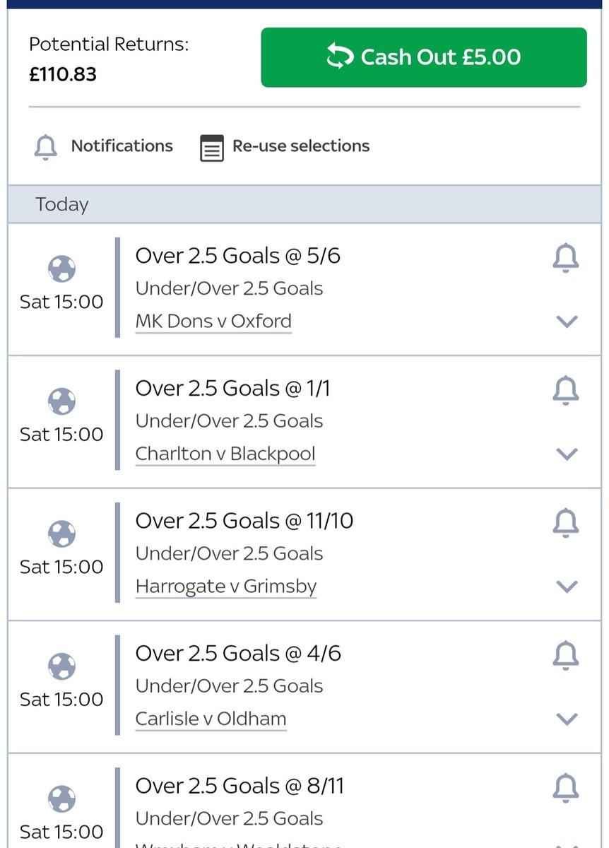 Over 2.5s for the side bet today. #thedegenerategambler #betting #gambling #football #footballbetting #footballgambling
