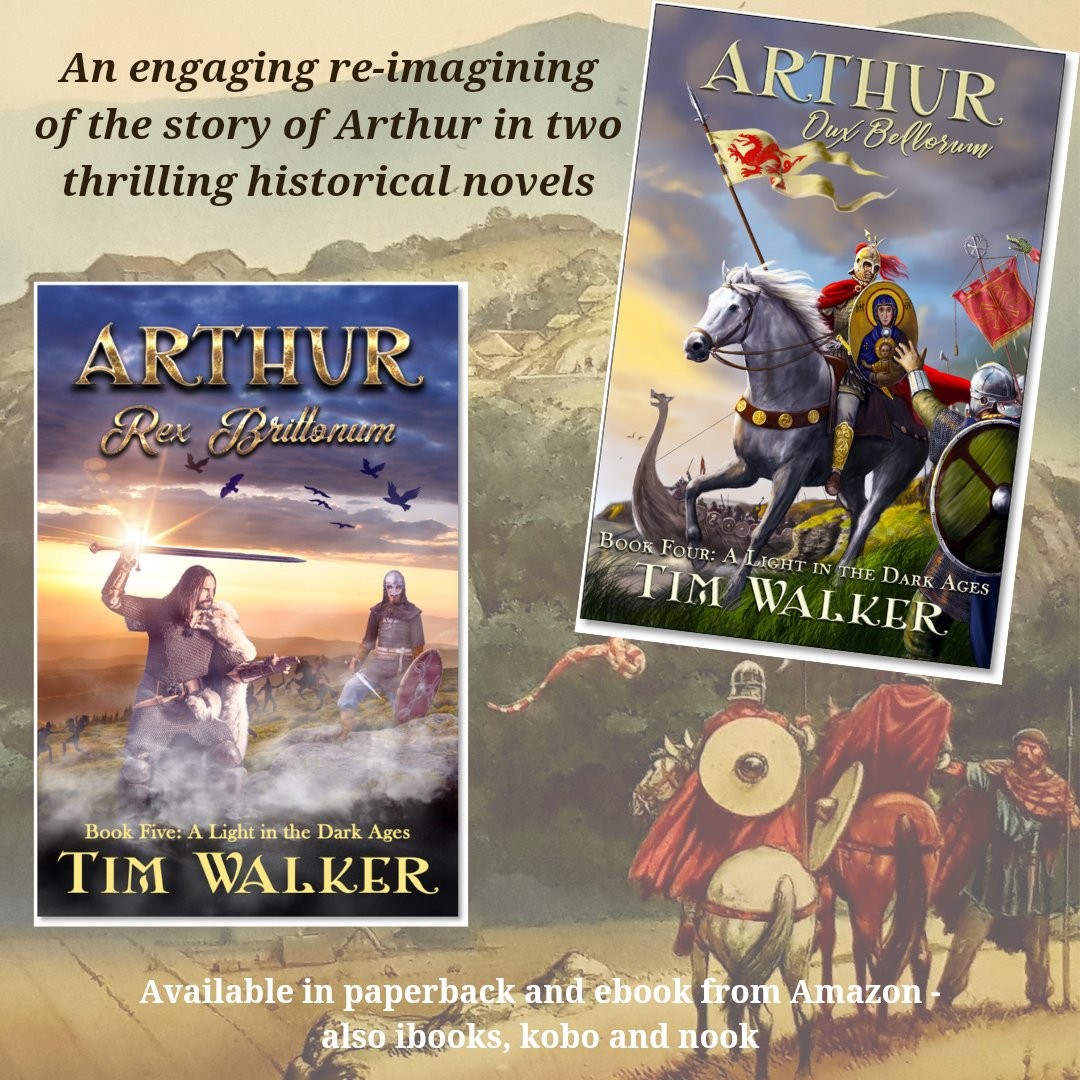 Was there a real historical figure behind the King Arthur of legend? Read my story of Arthur, based on possible locations of Nennius's 12 battles of Arthur: Kindle/paperback:  ...or ibooks, Kobo, Nook:   #histfic meets #legend #books