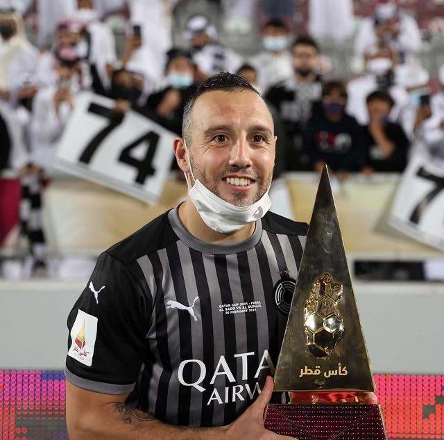 Congratulations to Santi Cazorla for winning the Qatar Cup with Al-Sadd last night.