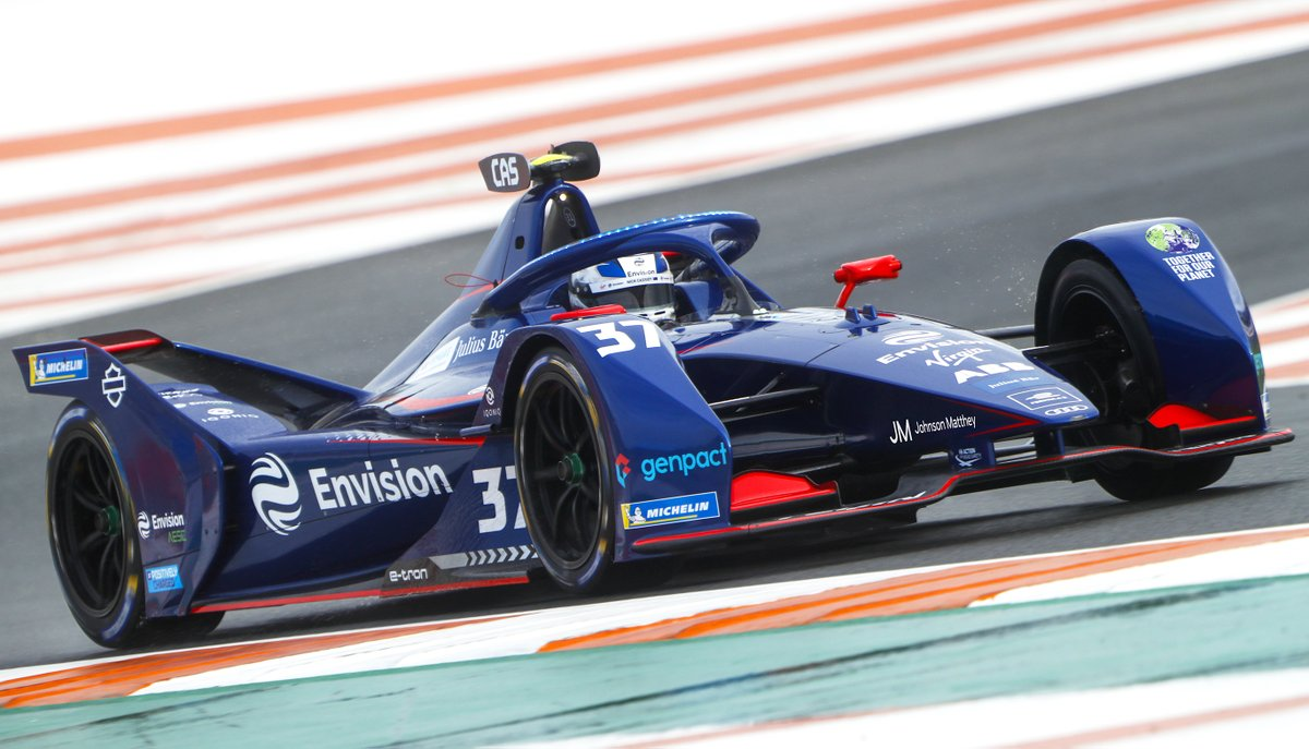 """""""The new Formula E season will be the most competitive yet."""" Exciting to see @EnvisionVirgin getting ready for the first two races this weekend, with the return of racing for a renewable future"""