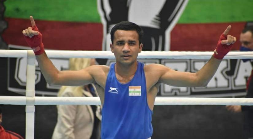 Indian Army Boxer Naib Subedar Deepak stunned Olympic Champion and Uzbekistanís Boxer Shakhobidon Zoirov in the 72nd Standja Memorial Cup at Sofia, Bulgaria and entered finals. @thetribunechd @adgpi @Padmadeo