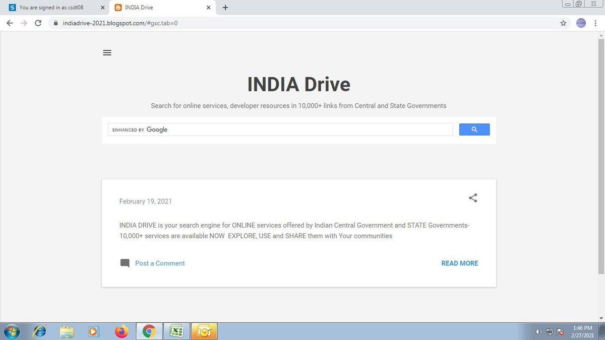INDIA DRIVE: ಸರ್ಕಾರಿ ಸೇವೆಗಳನ್ನು ತ್ವರಿತವಾಗಿ ಅನ್ವೇಷಿಸಿ.      ಭಾರತೀಯ ಕೇಂದ್ರ  ಮತ್ತು ರಾಜ್ಯ ಸರ್ಕಾರಗಳು ನೀಡುವ ಆನ್ಲೈನ್ ಸೇವೆಗಳಿಗಾಗಿ INDIA DRIVE ನಿಮ್ಮ ಸರ್ಚ್ ಎಂಜಿನ್- 10,000+ ಸೇವೆಗಳು ಈಗ ಲಭ್ಯವಿದೆ ಈಗ ಅವುಗಳನ್ನು ಅನ್ವೇಷಿಸಿ, ಬಳಸಿ ಮತ್ತು ನಿಮ್ಮ ಸಮುದಾಯಗಳೊಂದಿಗೆ ಹಂಚಿಕೊಳ್ಳಿ