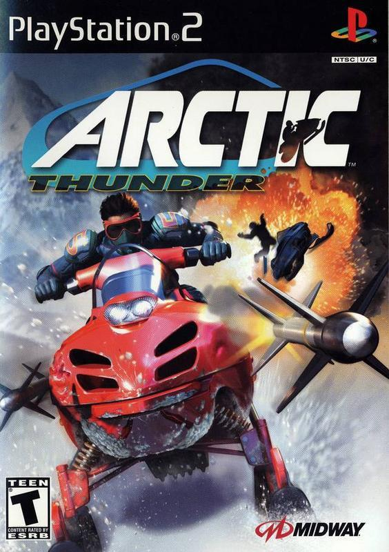 Engage in explosive hot racing and battling all while riding an cool snowmobile in Arctic Thunder #race #game #videogames #playstation #snow #gamer
